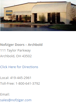 garage door services columbus oh dublin oh archbold oh  sc 1 th 260 : nofziger door - pezcame.com