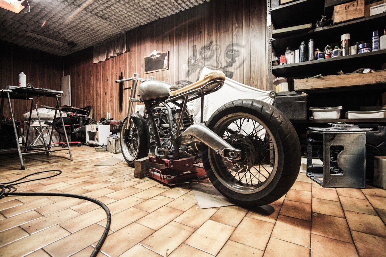 Motorcycle Man Cave Garage : The best man cave garage door nofziger doors